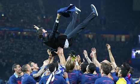 Barcelona extend Luis Enrique's contract until end of 2016-17 - The Guardian | AC Affairs | Scoop.it