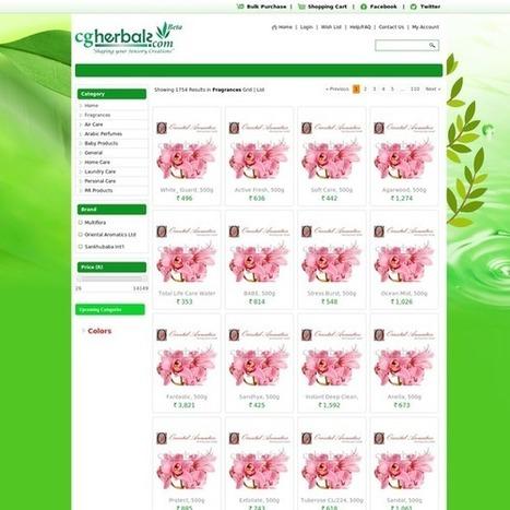Buy Fragrance Products Online in India | Herbals | Scoop.it
