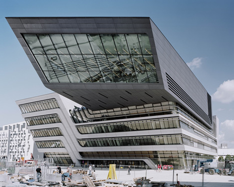 Library and Learning Centre in Vienna by Zaha Hadid Architects | The Information Professional | Scoop.it