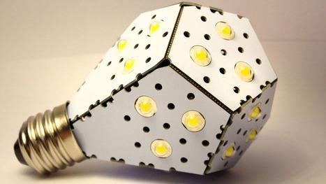 Most energy-efficient' light bulb shines on Kickstarter | Digital Sustainability | Scoop.it