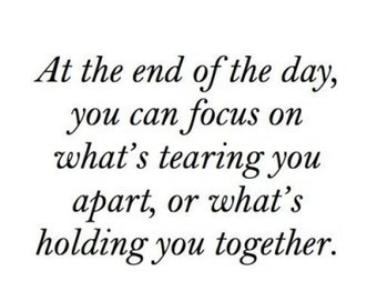 Quote of the day :  at the end of the day… | Favorite Quotes. | Scoop.it