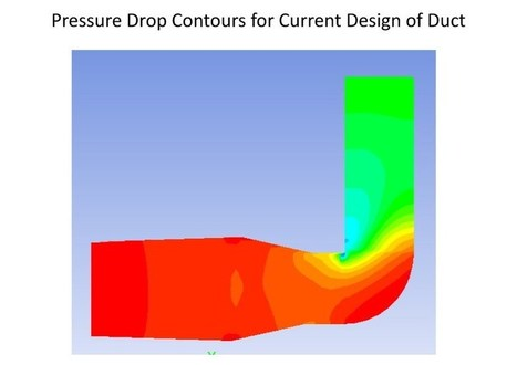 CFD Analysis to optimize flow inside Duct - FEA Consulting Services | FEA Consulting Services, Analysis, Modeling | Scoop.it