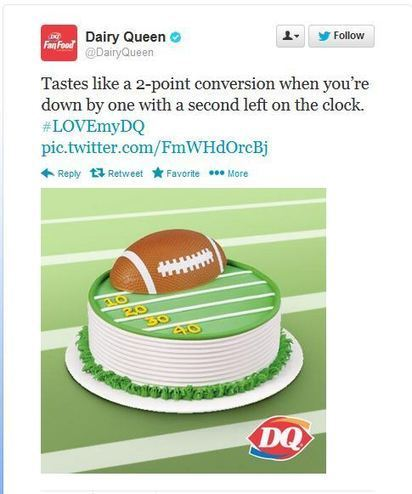 Lame Brand Tweets Dominate Super Bowl Action - Business 2 Community | Digital-News on Scoop.it today | Scoop.it