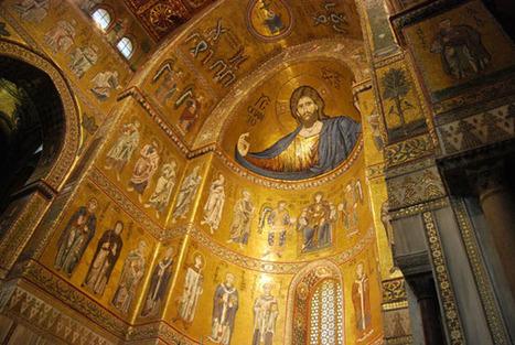 Mosaicos bizantinos en la Catedral de Monreale | Vídeoteca | Conocer el Arte | Scoop.it