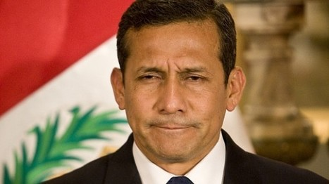 El presidente Humala registra su nivel de aprobación más bajo   Notas de clase   Scoop.it