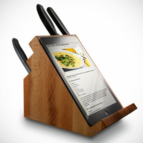 Gadget Innovation: iPad Holding Knife Block | The Jazz of Innovation | Scoop.it