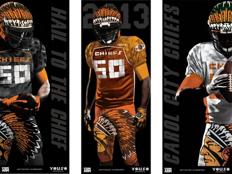 """SB Nation says new Carol City High School football uniforms are the """"ugliest ever"""" 