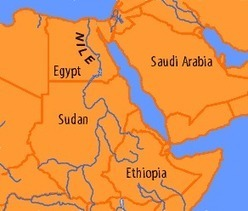 Egyptian-Ethiopian Conflict Spikes as Addis Ababa dams Blue Nile | COLLS IGCSE Sciences | Scoop.it
