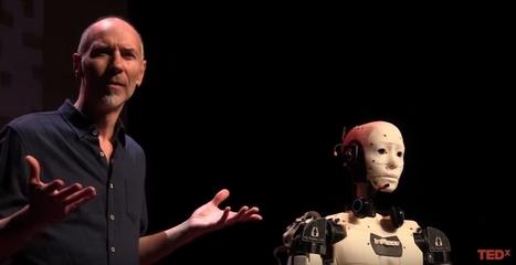 L'humanoïde qui vous sensibilise à la robotique | Gaël Langevin | TEDxÉcolePolytechnique | La technologie au collège | Scoop.it