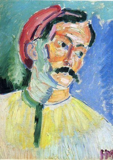 Portret van Andre Derain 1905 - Olieverfschilderijen | famous paintings gallery | Scoop.it