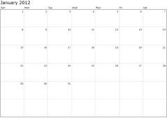 Printable Calendars | Classroom eLearning | Scoop.it