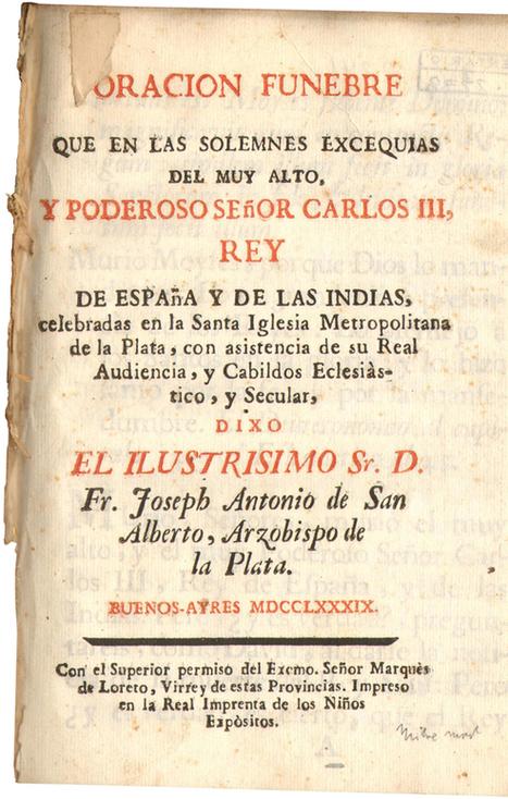 UnosTiposDuros > Portada > Tipografía colonial de Buenos Aires (1780-1810) | Sobre diseño en la web | Scoop.it