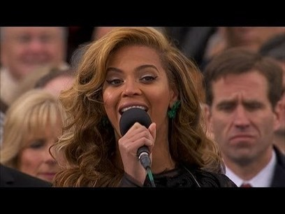 Beyonce National Anthem at Inaugural Ceremony: Ina | Affiliate Marketing & Make Money Online | Scoop.it