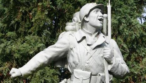 Toute la diversité des monuments aux morts du Cambrésis ... - La Voix du Nord | monument aux morts 14-18 | Scoop.it