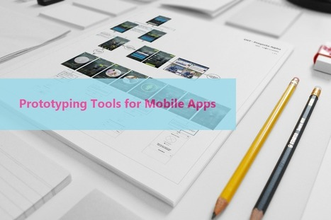 5 Of The Best Prototyping Tools For Mobile Apps | Veille, outils et ressources numériques | Scoop.it