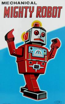 Posters plaque en métal Robot vintage - Bianca and Family   Vintage, Robots, Photos, Pub, Années 50   Scoop.it