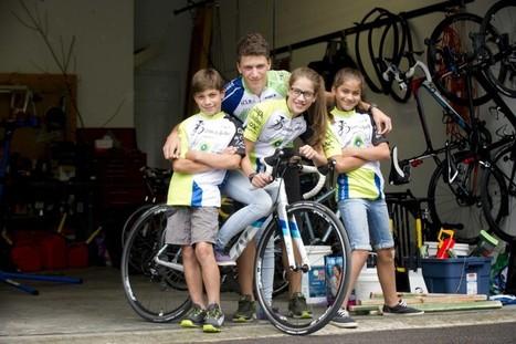 Quatre enfants, une passion | Louis-Simon Gauthier | Sports | Ski, sports de glisse, insolite et buzz | Scoop.it