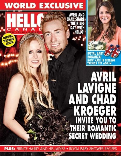 Avril Lavigne's Wedding Dress 2013 | Gothique | Scoop.it