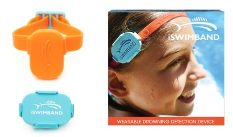 iSWIMBAND - The Ultimate Drowning Detection Device | lifehacking | Scoop.it