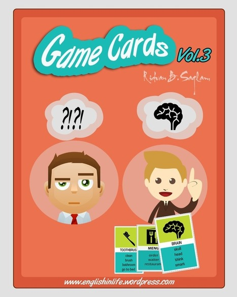 Game Cards Vol. 1-2-3 | English In Life | Scoop.it