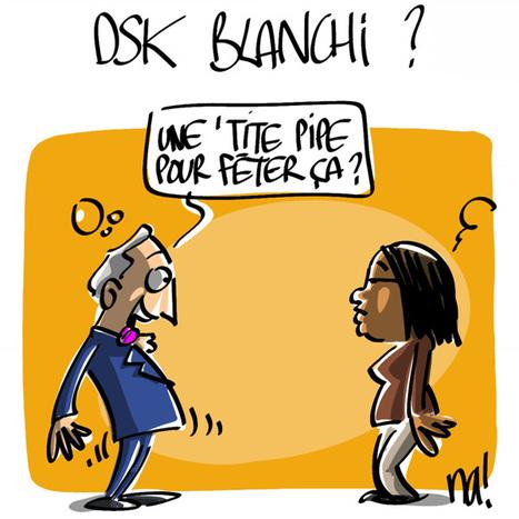 DSK blanchi ? | Baie d'humour | Scoop.it
