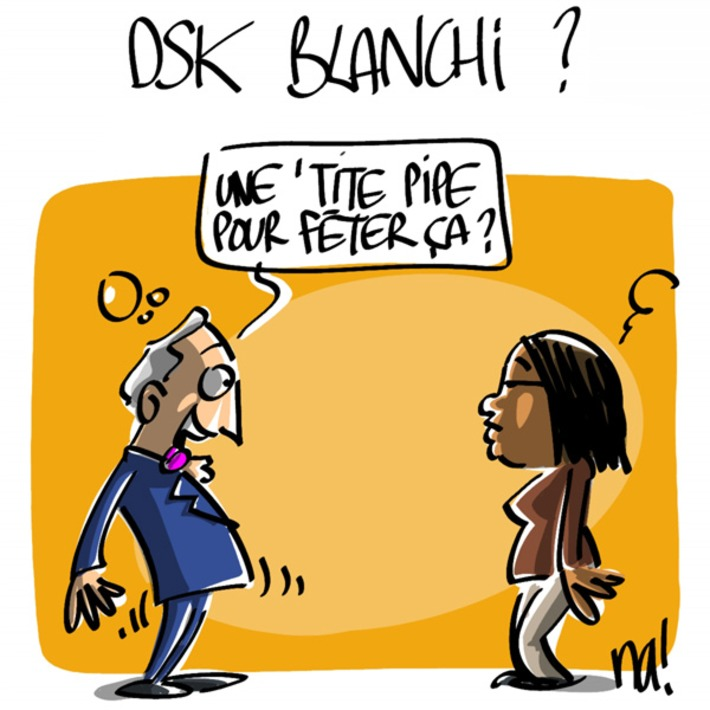 DSK blanchi ? | Baie d'humour | Scoop.it