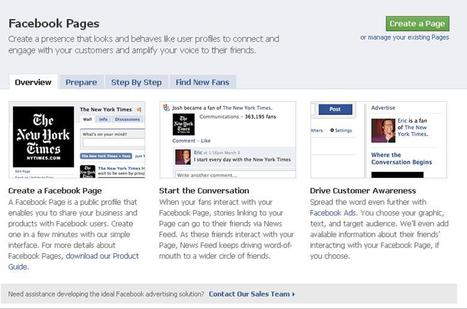 Business: Facebook Page vs. Facebook Profile | Small Business Marketing | Scoop.it