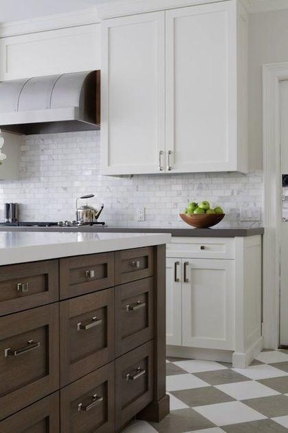 Pour ou contre ? Les cuisines bicolores... | décoration & déco | Scoop.it