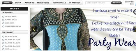 Clothing E-commerce site   Custom ecommerce   Scoop.it