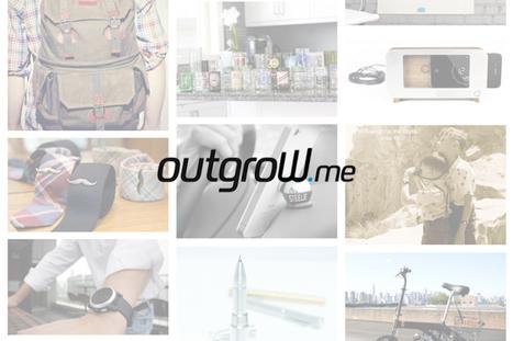 Outgrow.me : le crowdfunding a désormais sa boutique en ligne | Time to Learn | Scoop.it