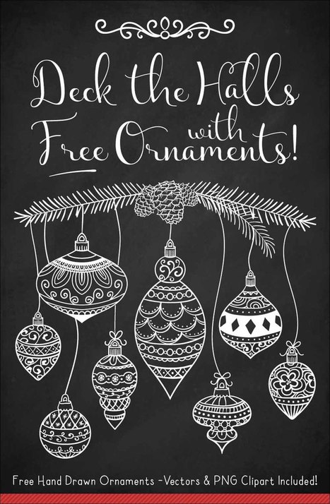 Free Christmas Ornament Vectors | Designrazzi | Designrazzi | Scoop.it