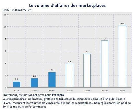 Les marketplace dépasseront les 10 milliards d'euros en 2018 | Web to Store & Commerces connectés | Scoop.it