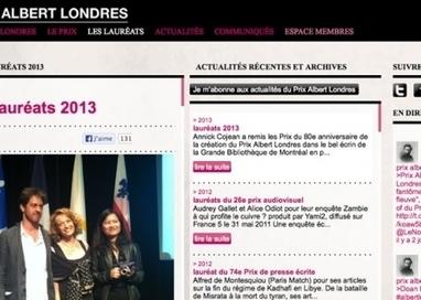 Deux français remportent le prix Albert Londres   Histoire8   Scoop.it