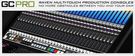 Raven Mult-Touch Production Consoles | Guitar Center | RAVEN MTX | Scoop.it