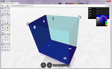 Useful Tools Students Can Use to Create 3D Models (Work on Chromebooks too) | tecno4 | Scoop.it