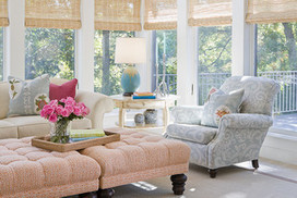 Room of the Day: Monet Colors Make a Sunroom Irresistible   Designing Interiors   Scoop.it