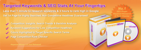 Keyword Winner 3.0 Review | The Ultimate SEO Plugin -50% Discount | Hot Internet Marketing Product | Scoop.it