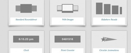 Transformez vos listes HTML en Carrousels en avec le plugin jQuery RoundAbout   JFPalmier   WebDevelopment   Scoop.it
