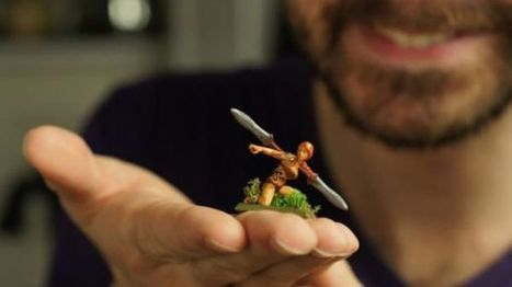 Shapeways helps 3D printing startup bring DnD figures to life | Peer2Politics | Scoop.it