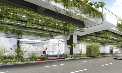 Jardín colgante en carretera brasilera filtrará en 20% de las emisiones de los automóviles | retail and design | Scoop.it