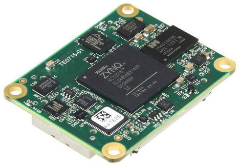 Xilinx Zynq-Z7015 FPGA + ARM based System-on-Modules Include High Speed Transceivers | Embedded Systems News | Scoop.it
