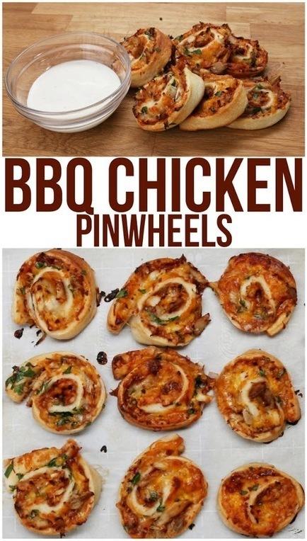 #Recipe : BBQ Chicken Rollups | Cooking Blog | DIY & Crafts | Scoop.it