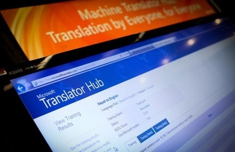 Microsoft's latest machine-learning poster child: Translator Hub | ZDNet | artificial intelligence for students | AI, Artificial intelligence | Scoop.it