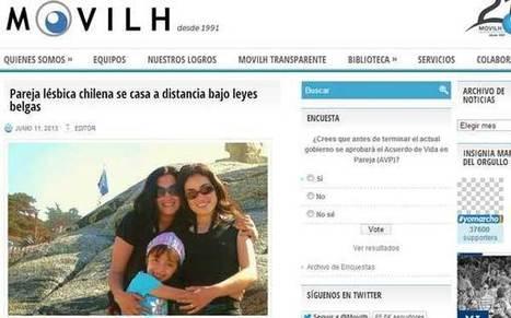 Pareja lesbiana en Chile se casa por Google Hangouts bajo leyes belgas | Tous Unis pour l'Egalité | Scoop.it