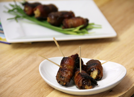 Bacon Wrapped Dates | Cheap Gourmet Meals | Scoop.it