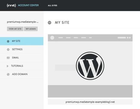 Media Temple Launches Managed WordPress Hosting Service - TechCrunch | Digital Presence | Scoop.it