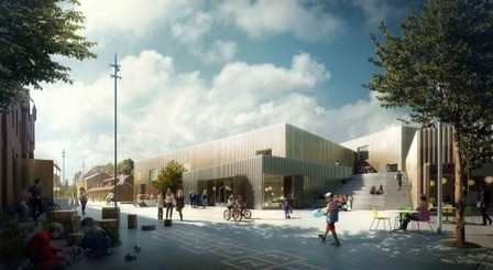 The New Urban School, Mixed Use Sports Complex Proposal ... | Sports Facility Management 4095530 | Scoop.it