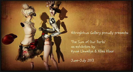The Sum of Our Parts at Nitroglobus Gallery, Opening Party June 29th 1-4pm SLT. Open today through July | Culture and Fun - Art | Scoop.it
