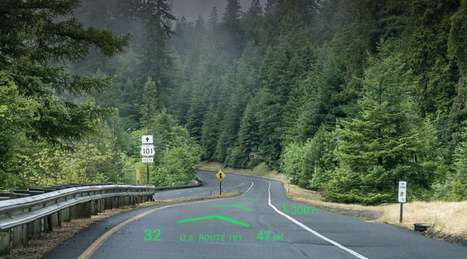 Augmented Reality Is Coming To Your Windshield   4D Pipeline - trends & breaking news in Visualization, Mobile, 3D, AR, VR, and CAD.   Scoop.it