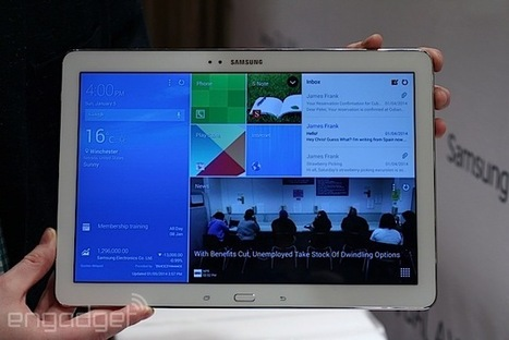 Samsung's Galaxy Note Pro 12.2 is a gigantic tablet that promises extensive productivity (hands-on) | EDU Plan | Scoop.it